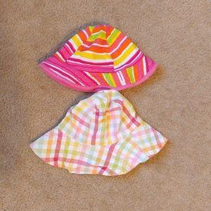Toddler girls sun hats